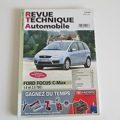 Revue Technique Auto Ford Focus C-Max