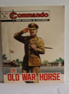 Commando War Comic (issue 1217) 'The Old War Horse'