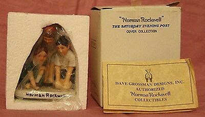 """Norman Rockwell figurine """"Marble Players"""""""