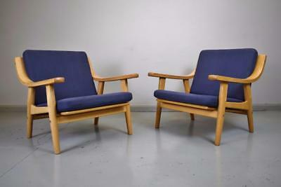 (1 of 2) Mid Century Retro Danish Hans J. Wegner GE-530 Getama Lounge Arm Chair