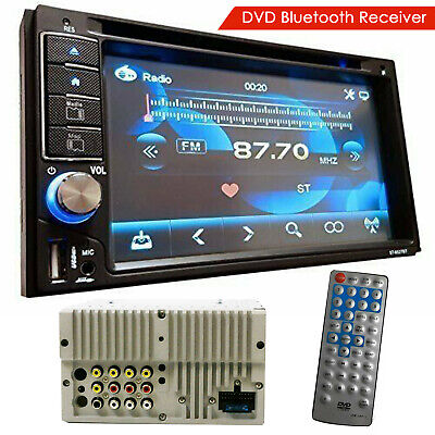 "Car Audio Double Din 6.2"" Touchscreen Lcd Dvd Cd Mp3 Bluetooth Stereo"