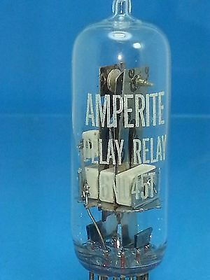 Amperite 6No45T Spst Vacuum Tube No 45 Second High Voltage B+ Ac Dc Time Delay