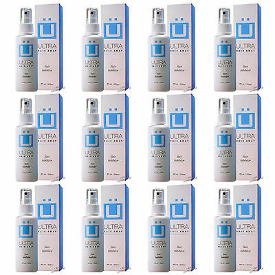 Ultra Hair Away Spray 12 Month Removal Growth Inhibitor No Shaving No Body Hair