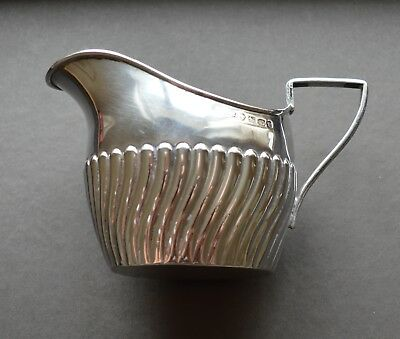 Lovely Sterling Silver Antique Creamer Birmingham 1889 Old