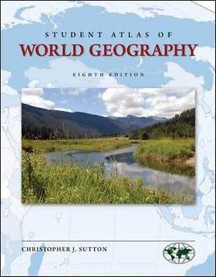 Student Atlas of World Geography by Christopher Sutton (2013, Paperback)