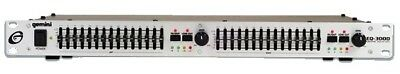 Gemini EQ-3000 Dual 15-Band Equalizer with Low Cut Feature