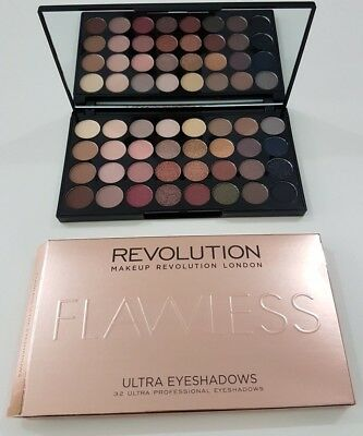 Makeup Revolution Eyeshadow Palette in Flawless 32 Shades Nude & Natural Sealed