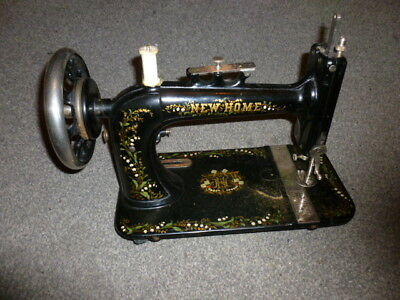 Antique Vintage New Home Portable Sewing Machine