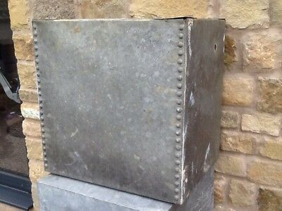 industrial galvanised riveted water tank