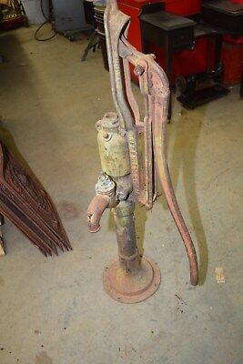 Antique Vintage F. E. Myers & Brothers Co Cast Iron Hand Well Pump Large