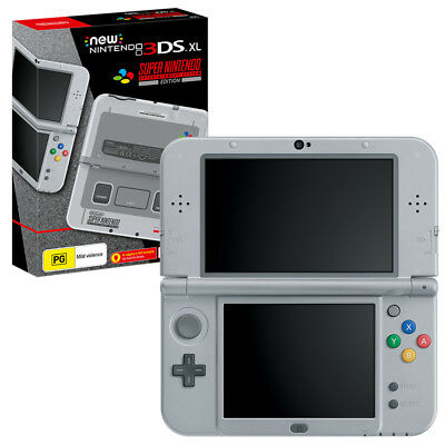 New Nintendo 3DS XL SNES Edition Console NEW PREORDER 14/10