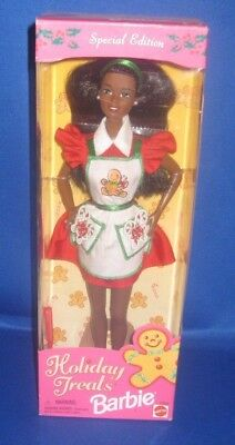 Special Edition Holiday Treats Aa Collector  Barbie Doll, Nrfb
