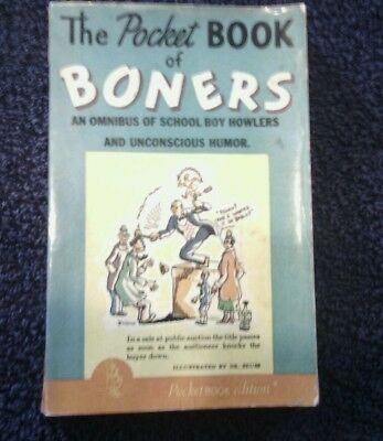 The Pocket Book of Boners illustrated by Dr. Seuss 1941
