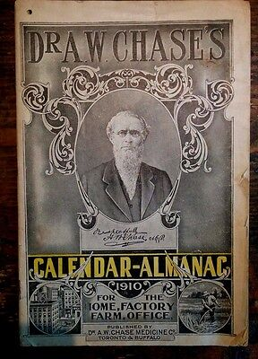 Almanac 1910 Lots Of Medical Articles