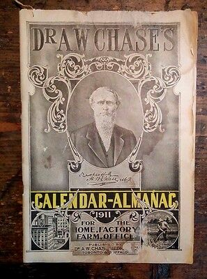 Almanac 1911 Lots Of Medical Articles