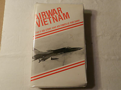 AirWar Vietnam The F-105 Story & Air Power At KHE SANH vhs