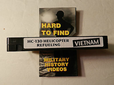 HC-130 Helicopter Refueling Vietnam War  Traditions Military Video  VHS