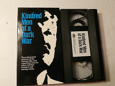Kindred Men of A Dark War  Vietnam War Stories  VHS