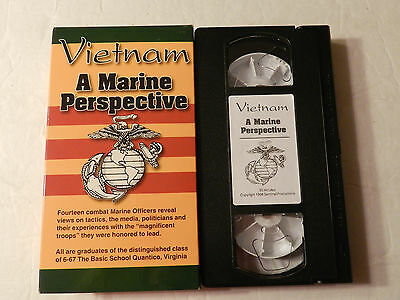 Vietnam A Marine Perspective Vietnam War Stories VHS