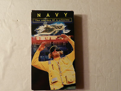 Navy The Journey Of A Lifetime Navy Recruitment VHS Video