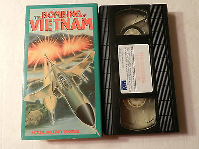 The Bombing Of Vietnam. Actual Military Footage VHS