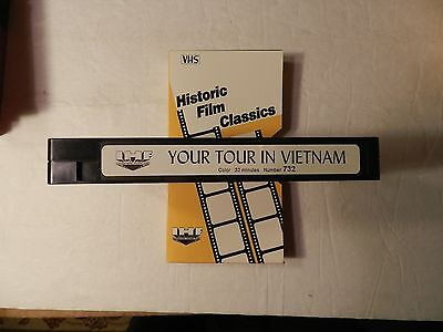 Your Tour In Vietnam VHS Vietnam War