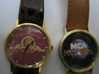 Vintage Promotional Collectible Watches (2) Sent from Studios to promote movies
