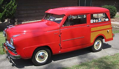 1949 Other Makes 1949 Crosley Station Wagon Mini Car Woodie Hot Rod 1949 Crosley restored micro woody cruiser stock motor not barn find, propeller
