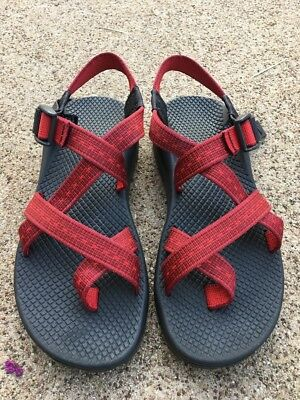 Chaco Vibram Women's Z2 Sports Sandals Red Size 8