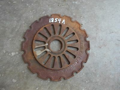 1 USED 1854A STEEL / CAST IRON IHC Farmall PLANTER IH Seed PLATE 1854 A