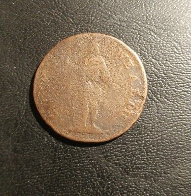 Post-Colonial Massachusetts, 178?  Copper Cent.