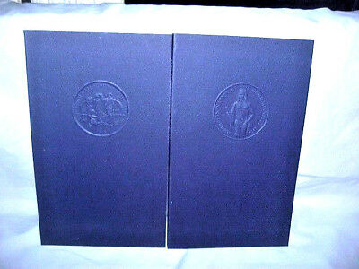 2 Indian Tribal Books, Signed & Numbered ( Narragansett & Chitimacha ).