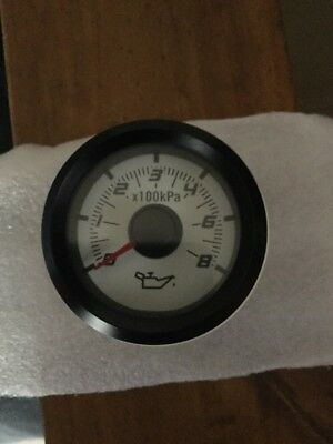 Ve Hsv Series 1 Oil Pressure Gauge