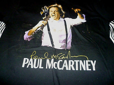 Paul McCartney  Tour Shirt ( Used Size M ) Very Nice Condition!!!
