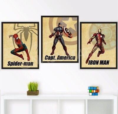 Perfect Spiderman Posters Wall Decor Gallery - Wall Art Design ...