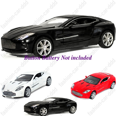 Pullback 1:32 Aston Martin ONE-77 Alloy Diecast Model Car With Sound&Light Xmas