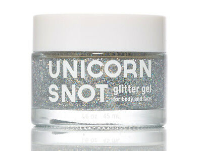NEW Unicorn Snot Face and Body Glitter Gel | Kids Sparkle | ihartTOYS (Silver)