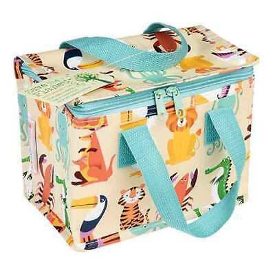 NEW Rex London Colourful Creatures Lunch Bag - Kids School Education - ihartTOYS