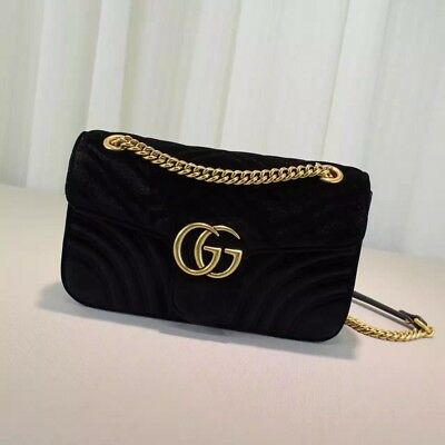 Black Women's GUCCI Brass Bruna Handbag