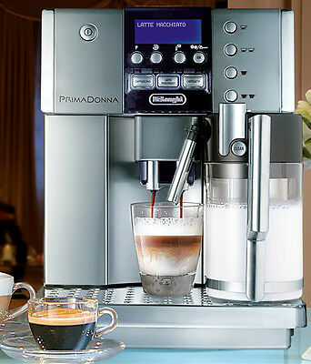 DeLonghi PrimaDonna S Deluxe ESAM 6600 Fully Automatic Coffee Maker ORP $3099.00