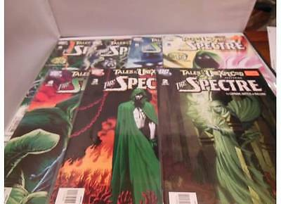 TALES OF THE UNEXPECTED: the SPECTRE #2-8 MINI COMIC BOOK LOT RUN 2 3 4 5 6 7 8