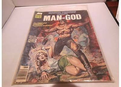 Marvel Preview Presents #9 Man-God, Curtis, Stan Lee, Vol. 1 No. 9 Winter 1976