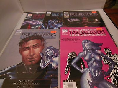 True Believers Comic Set #1-5 Marvel Comics Luke Cage 1 2 3 4 5
