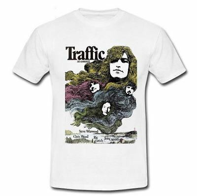 Traffic In Concert English rock band band Derek and the Dominos T-shirt S-2XL