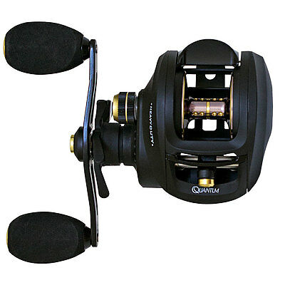 Quantum Smoke HD Heavy Duty Baitcaster Reel Ideal For Big Cod Lures