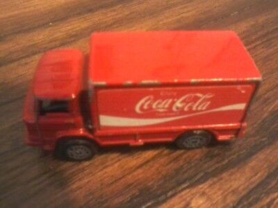 Old Coca Cola Delivery Truck Die Cast Vehicle Matchbox Size