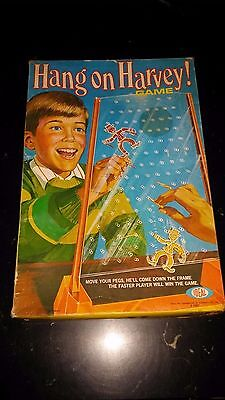 1970 Hang On Harvey! Game Ideal Toys