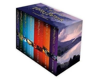 Harry Potter Box Set: The Complete Collection Children's by J. K. Rowling...