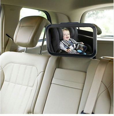 2017 New Baby Backseat Mirror gives a Clear View Of Baby In Rear Facing Car Seat