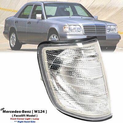 Front Right Replacement White Lamps Lights Fits Mercedes- Benz W124 86-93